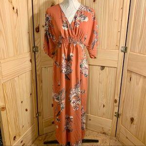🌺 Jessica Simpson Maternity Maxi Floral Dress